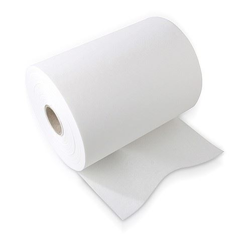 White backing roll